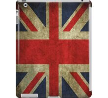 Antique Faded Union Jack UK British Flag iPad Case/Skin