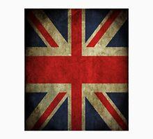 Antique Faded Union Jack UK British Flag T-Shirt
