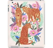 Leopard Idea, leopard print, animal print, flower print iPad Case/Skin