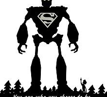 Super Iron Giant by Rachel Flanagan