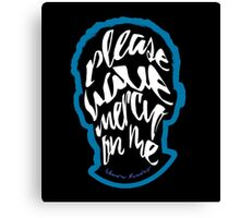 Shawn Mendes - Mercy Typography Canvas Print
