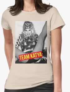 TEAM KATYA Womens Fitted T-Shirt