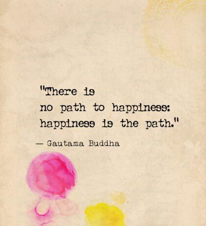 Buddha quote Sticker