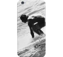 SURFER PANTONE BLK/WHI iPhone Case/Skin