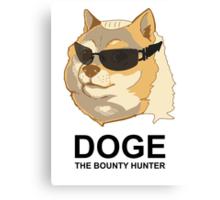 Doge the bounty hunter Canvas Print