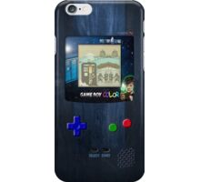 Space And Time traveller Gameboy special edition iPhone Case/Skin