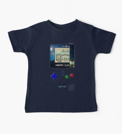 Space And Time traveller Gameboy special edition Baby Tee