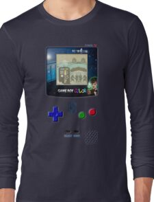 Space And Time traveller Gameboy special edition Long Sleeve T-Shirt