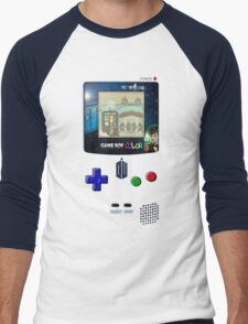 Space And Time traveller Gameboy special edition Men's Baseball ¾ T-Shirt