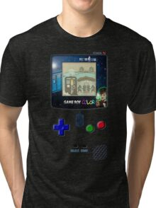 Space And Time traveller Gameboy special edition Tri-blend T-Shirt