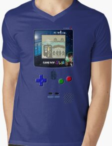 Space And Time traveller Gameboy special edition Mens V-Neck T-Shirt