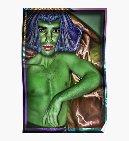 The Orion Slave Boy (Star Trek Reference (Humor)) Poster