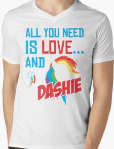 DASHIE - LIMITED EDITION Mens V-Neck T-Shirt