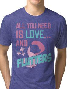 FLUTTERSHY - LIMITED EDITION Tri-blend T-Shirt