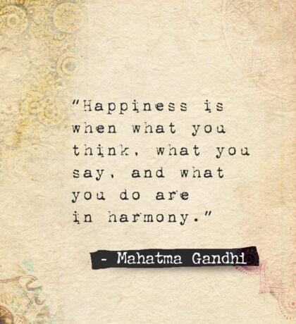 Buddha quote happiness Sticker
