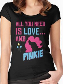PINKIE PIE - LIMITED EDITION Women's Fitted Scoop T-Shirt