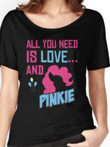 PINKIE PIE - LIMITED EDITION Women's Relaxed Fit T-Shirt