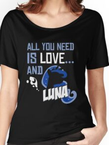 LUNA - LIMITED EDITION Women's Relaxed Fit T-Shirt