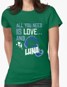LUNA - LIMITED EDITION Womens Fitted T-Shirt