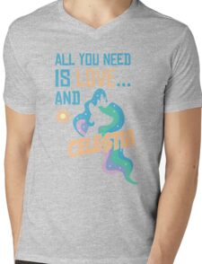 CELESTIA - LIMITED EDITION Mens V-Neck T-Shirt