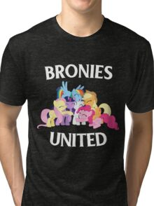 BRONIES UNITED - LIMITED EDITION Tri-blend T-Shirt