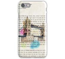 book page iPhone Case/Skin