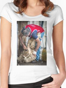 Shearing Display 2014 Women's Fitted Scoop T-Shirt