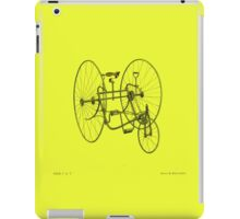 A Fancy Ride in Yellow iPad Case/Skin