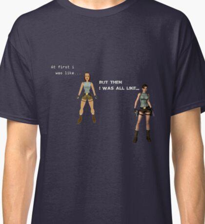 Lara Croft Evolution Classic T-Shirt