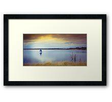 Tranquil Moment Framed Print