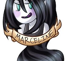 Flower Crown: Marceline by lythweird