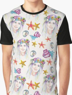 Ocean Princess Graphic T-Shirt