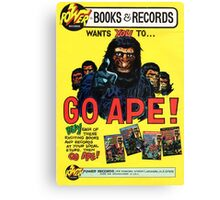 Planet of the Apes Classic Canvas Print