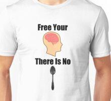 Free Your Mind Black Text (Clothing & Sticker ) Unisex T-Shirt