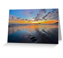 Daintree coast sunrise Greeting Card