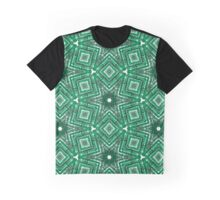Green Brushes Graphic T-Shirt