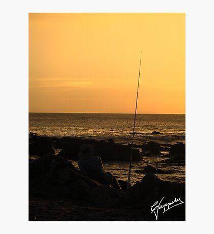 La tranquilidad del Pescador Photographic Print