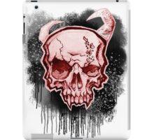 Red Demon Skull iPad Case/Skin