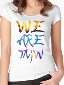 TOMORROWLAND ARTWORK : WE ARE TOMORROW Women's Fitted Scoop T-Shirt