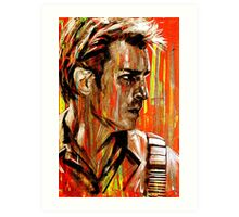 Captain Nathan Malcolm Reynolds Fillion Painting Art Print