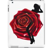 Rose Lady! iPad Case/Skin