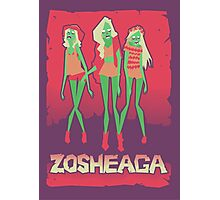 Music festivals zombies Photographic Print