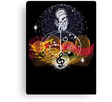 Music heals Canvas Print