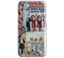 Performing Arts Posters Joseph Hart Vaudeville Co direct from Weber Fields Music Hall New York City 0964 iPhone Case/Skin