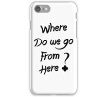 ALESSO QUOTE : I WANNA KNOW iPhone Case/Skin
