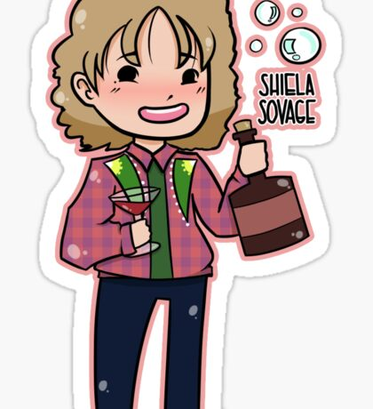 SNL - Shiela Sovage Sticker