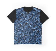 Tangle Blue Graphic T-Shirt