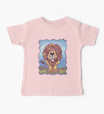Animal Parade Lion Baby Tee