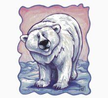 Animal Parade Polar Bear One Piece - Short Sleeve