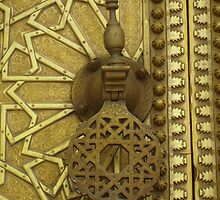 Morocco - door handle by Janine Barr
